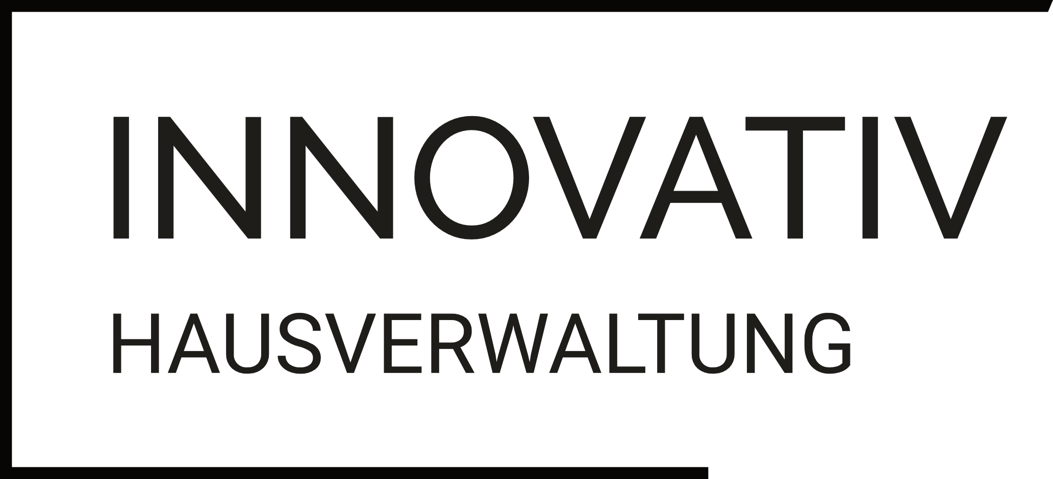 Logo InnovativImmobilien 28 hsw black 925 invers